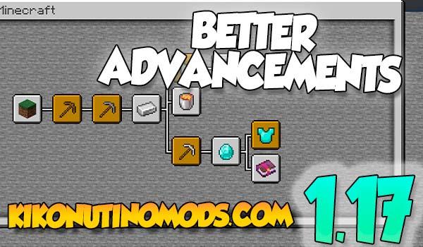 Better Advancements Mod 1.17.1